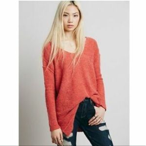 Orange Free People Sweater Small